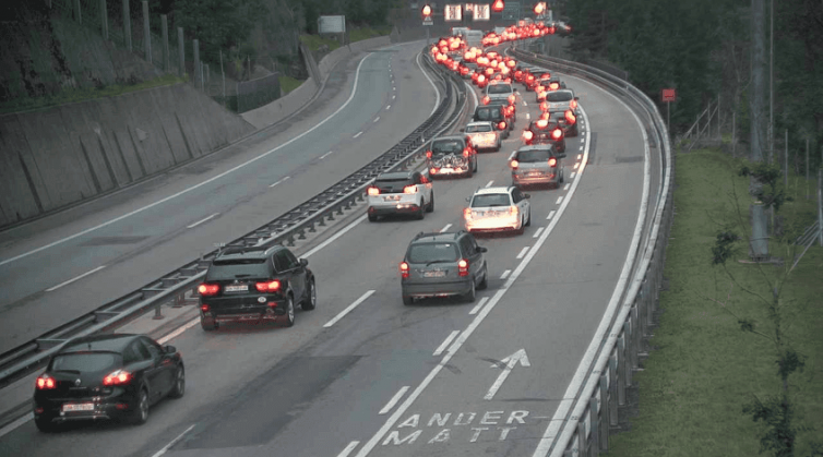 swissxover gotthard traffic information