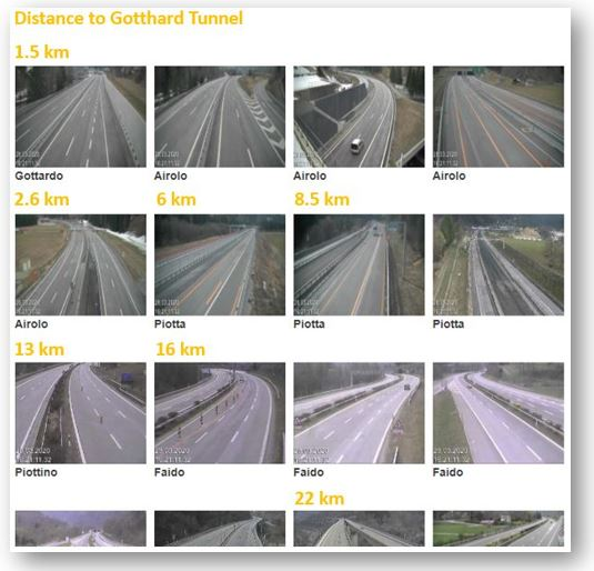 Live Traffic Webcam Gallery