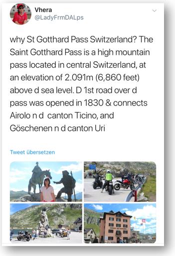 Gotthard Pass road