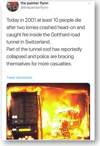 Gotthard Road Tunnel Accident