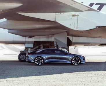 Lucid Motors CEO gives us the details on the 400-mile Air electric car
