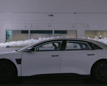 Lucid reveals the secret behind its electric sedan's 517-mile range