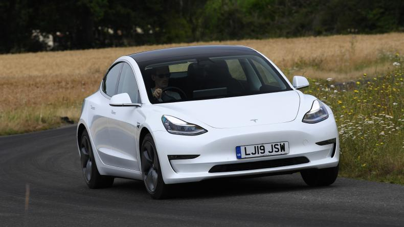 Electric car sales UK: Tesla Model 3 drops from top 10 in July