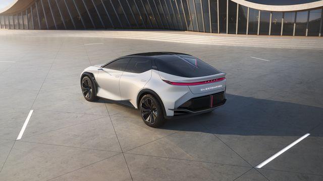 Lexus LF-Z Concept Previews Brand's Electric Future