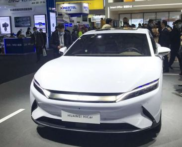 Huawei's revs up drive for 5G-equipped smart electric cars with launch of Arcfox luxury sedan